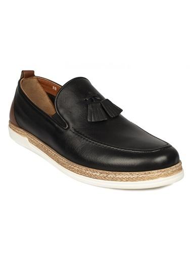 Greyder Greyder Deri Günlük Ayakkabı 0Y1Ua63350 Siyah